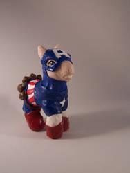 My little Captain America