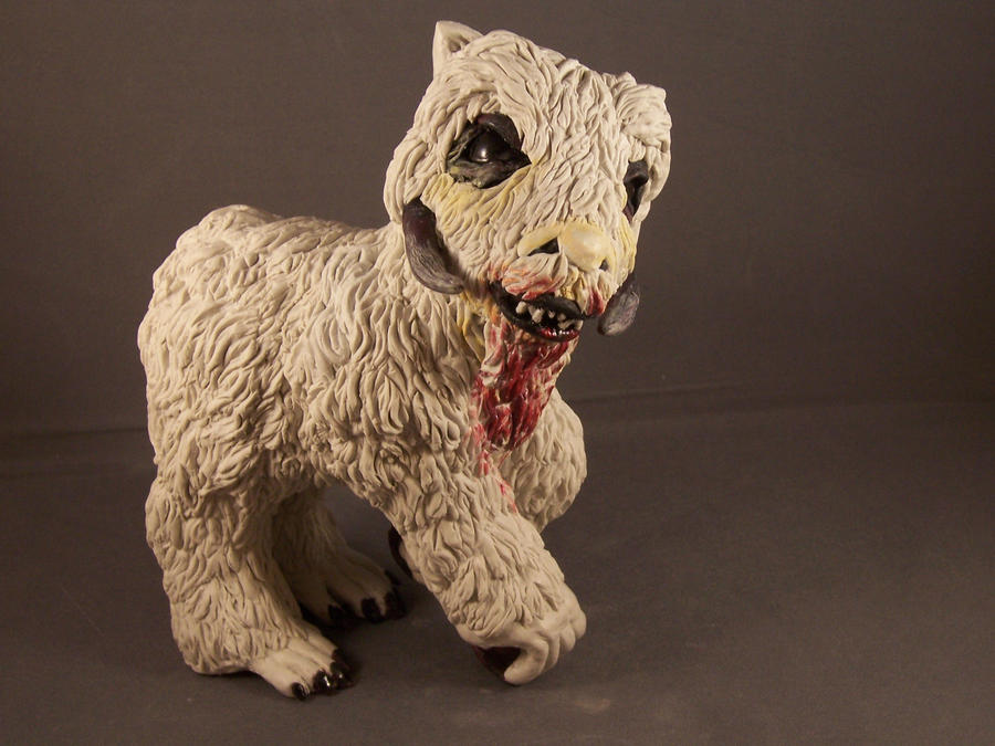 Star Wars MY Little Wampa Pony by xXPaintedxPonyXx