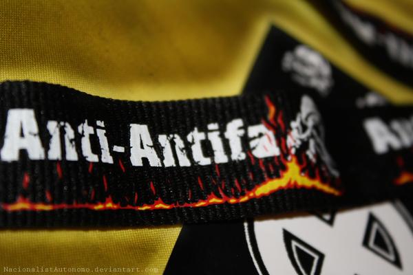 ANTI ANTIFA by NacionalistAutonomo