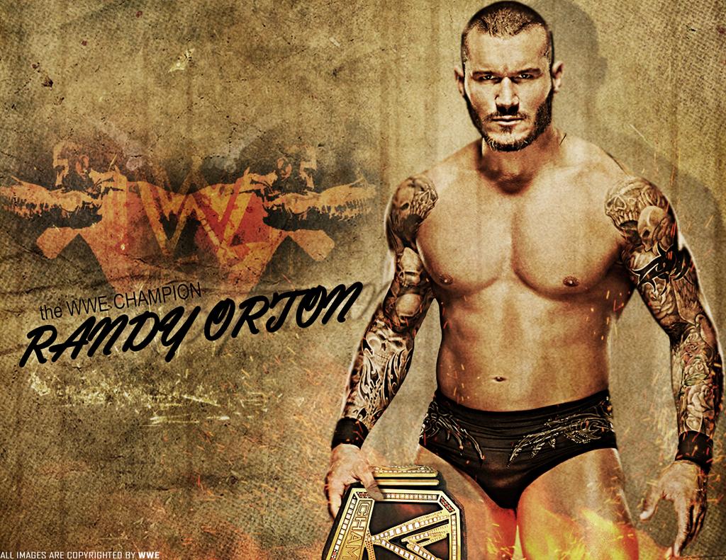 Randy Orton WWE Champion 2013 Wallpaper By JrbDesign
