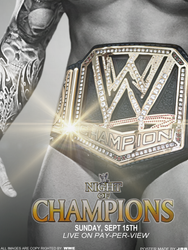 WWE Night of Champions 2013 Poster by JrbDesign