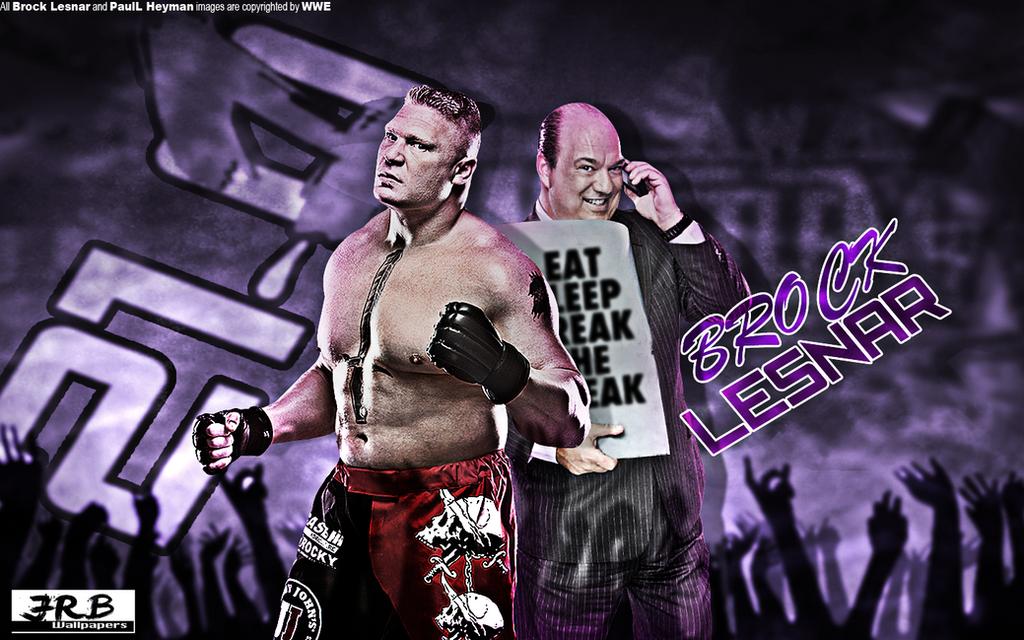 Brock Lesnar 21 1 Wallpaper By JrbDesign