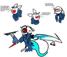 Alpha doodles by CPtheLunarGoat