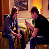 Dean and Sam icon 1 (from Weekend at Bobby's) by ScheherazadesHorcrux