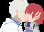 [Vector] Zen Wistaria and Shirayuki - First Kiss