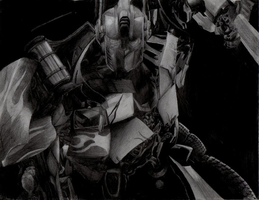 optimus prime by trececielos