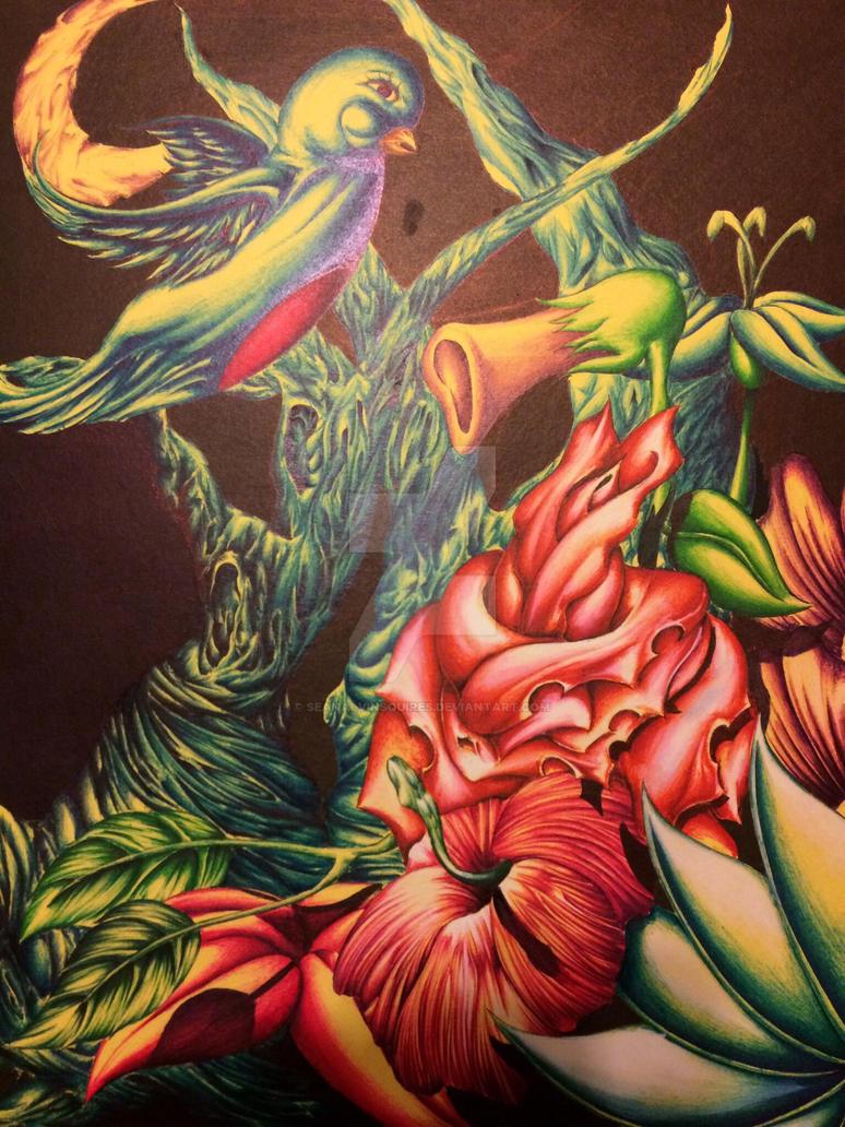 Flower garden by seanalvinsquires