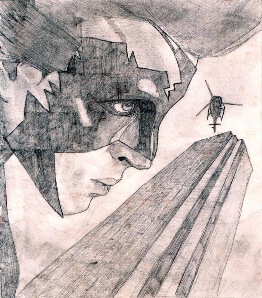 Few old pencil sketches by hellboyashish