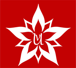 Uv Logo Suquare Red by Ynikesh