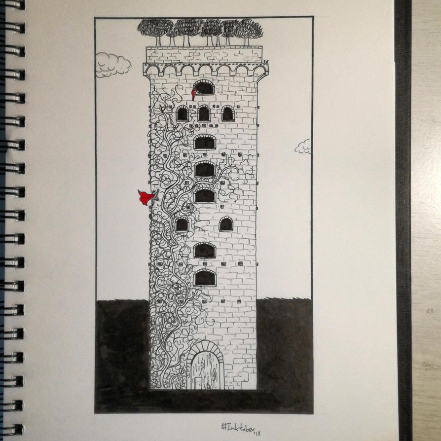 The Tower Inktober 2017 #27 by KleonX