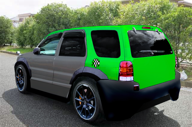 Ford escape modified 1 by jdimensions27 on deviantart