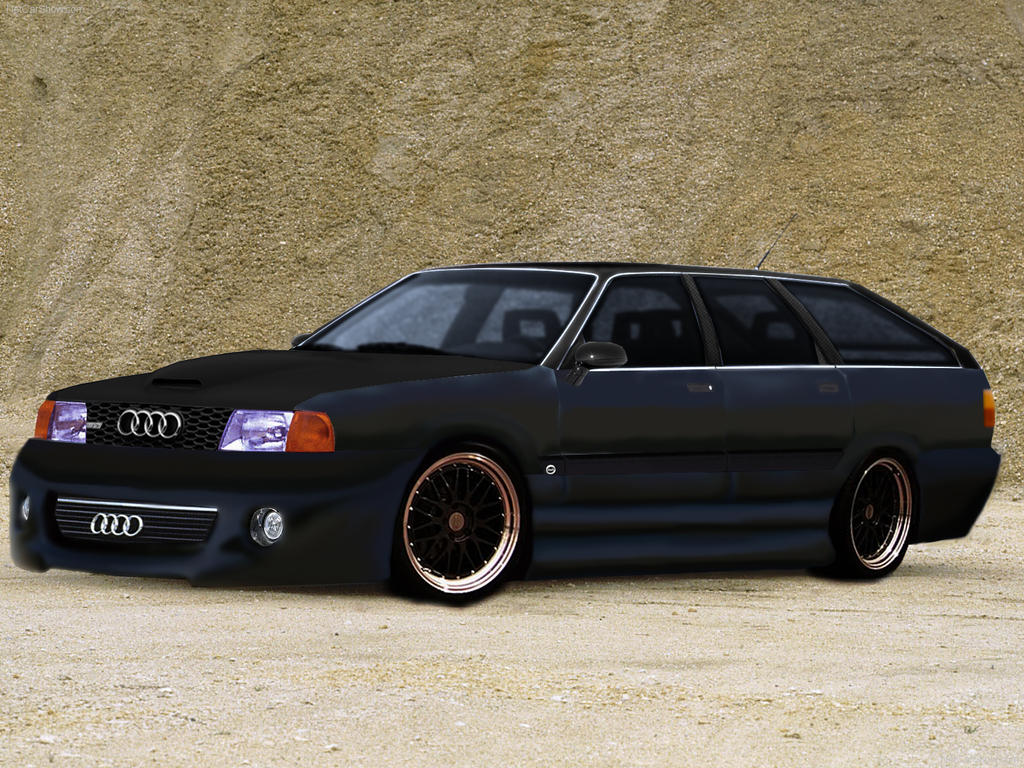 audi 100 avant quattro 1984 tuning by jdimensions27 on. Black Bedroom Furniture Sets. Home Design Ideas
