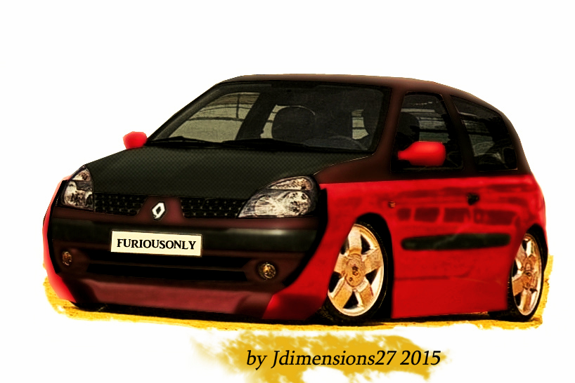 renault clio tuning by jdimensions27 on deviantart. Black Bedroom Furniture Sets. Home Design Ideas