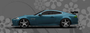 Jaguar XK Coupe 2012 Left Side