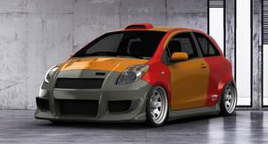 Toyota Yaris S Liftback 2009 tuning