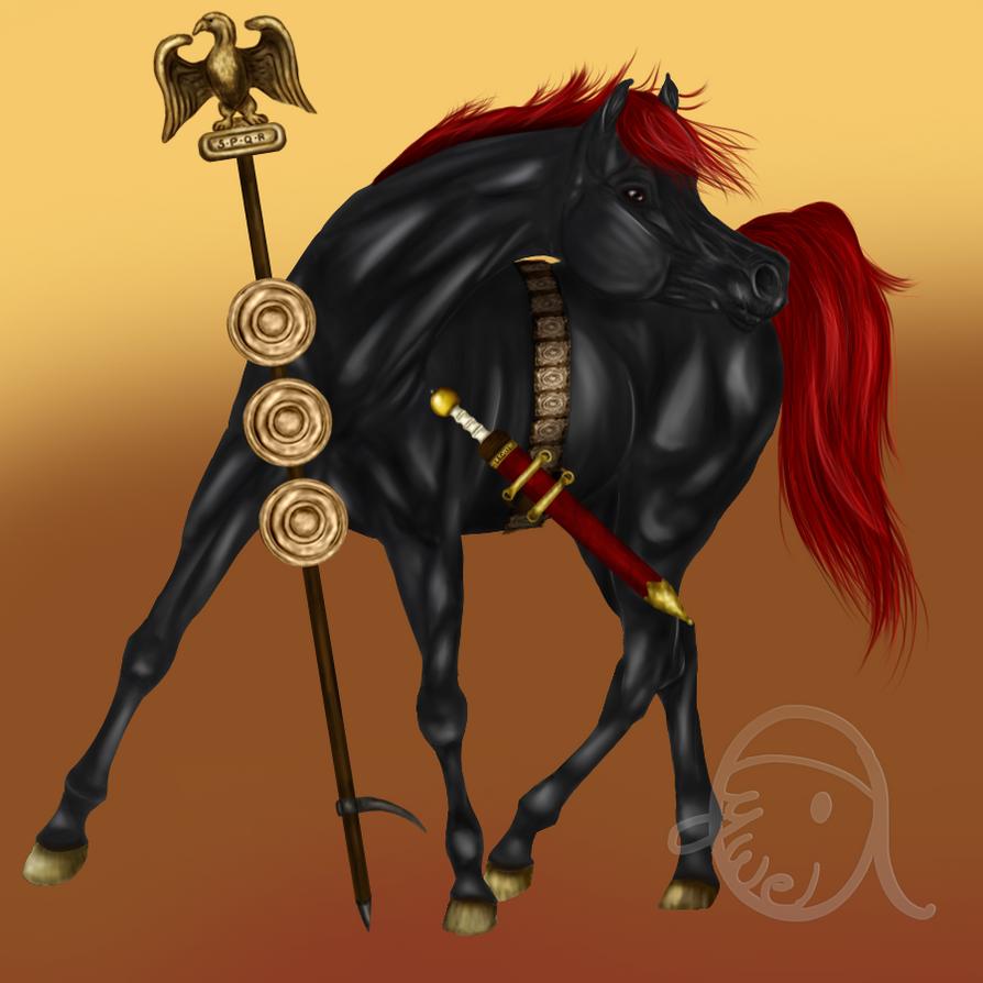 Legio Horse by Alywe