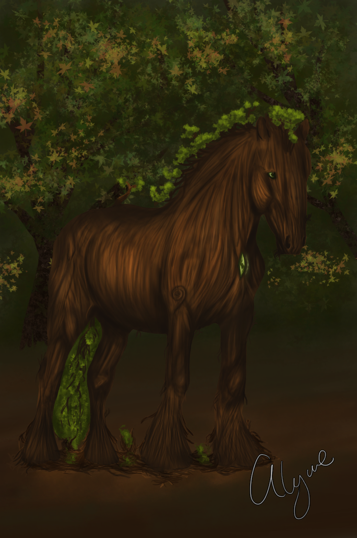 Forest Guardian by Alywe