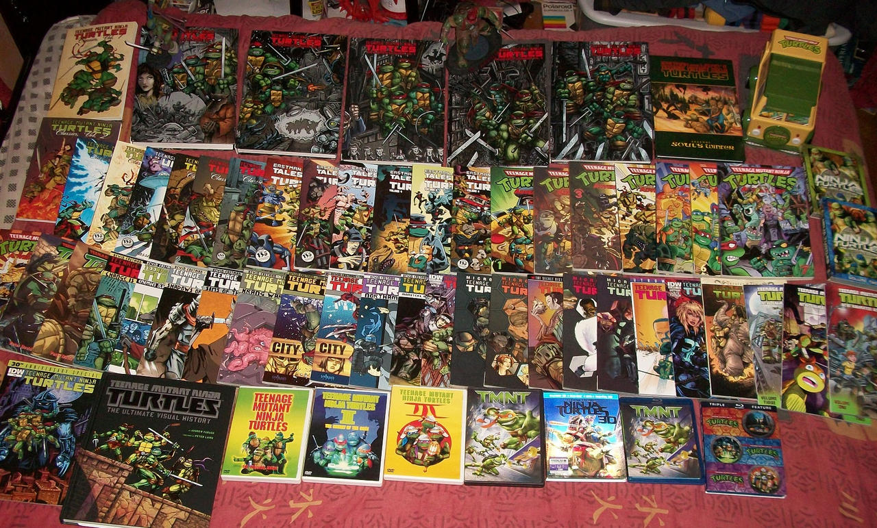 Here Is My Ninja Turtles Collection IMG