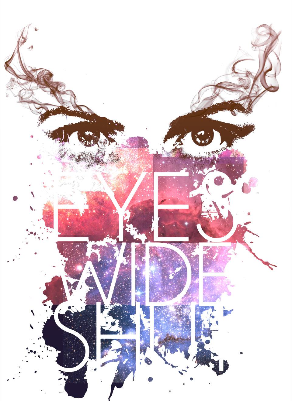 Design t shirt in photoshop - Soul Eyes Float Smoke