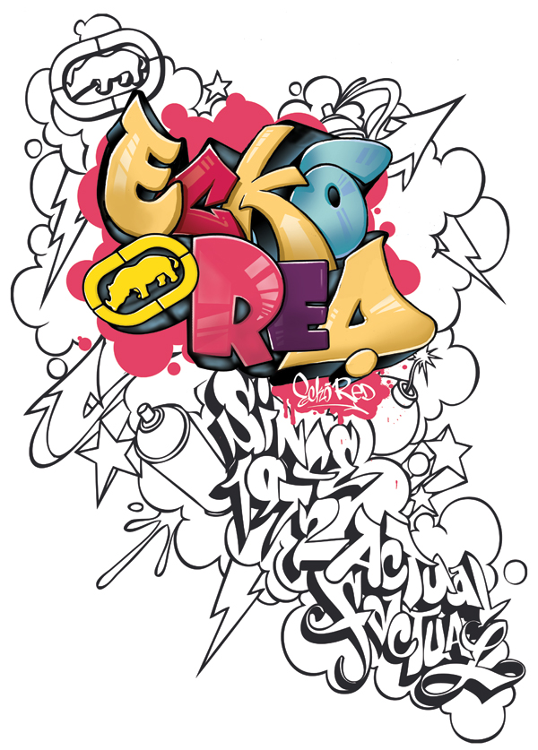 Graffiti Coloring book by Initial-Dzines on DeviantArt