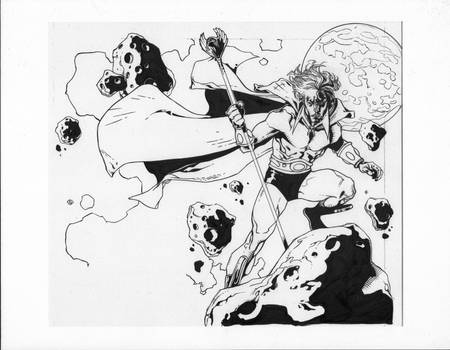 Adam Warlock inks