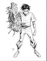 Tetsuo inks by JosephLSilver