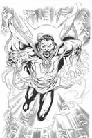 Dr Strange inks by JosephLSilver