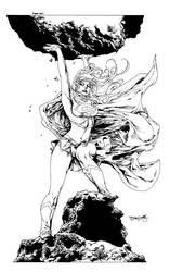 sjsegovia Supergirl inks