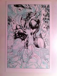Inks process 2-Jim Lee by JosephLSilver