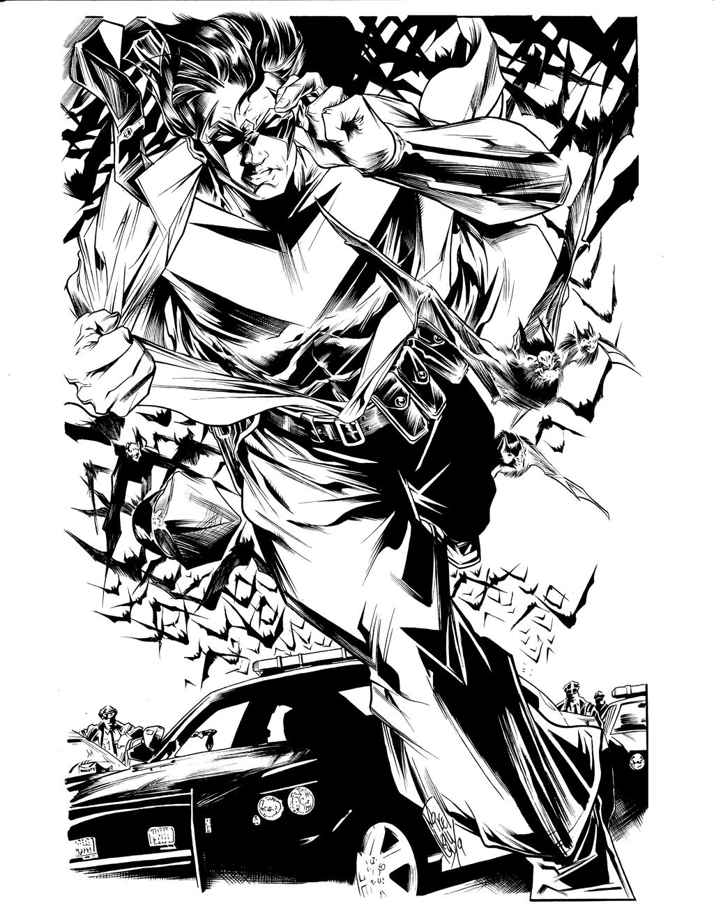 Mike Lilly Nightwing inks