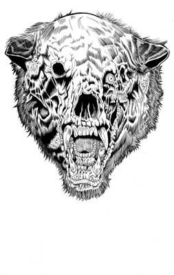 Annihilation Scare Bear inks