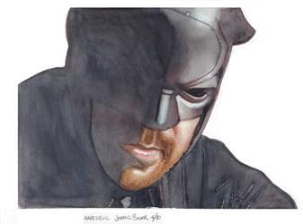 Daredevil watercolor