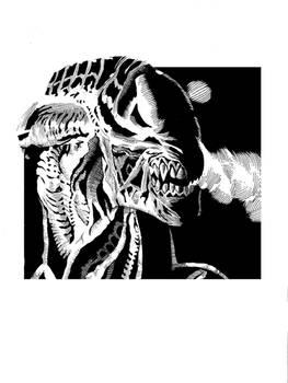 Aliens sketch