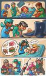 Children's Hospital Illustrations