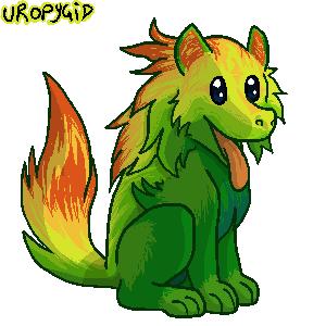 Leafdog by uropygid