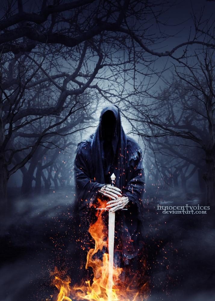 Death has come by Dark-Voices
