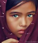 Jewel Eyed Girl