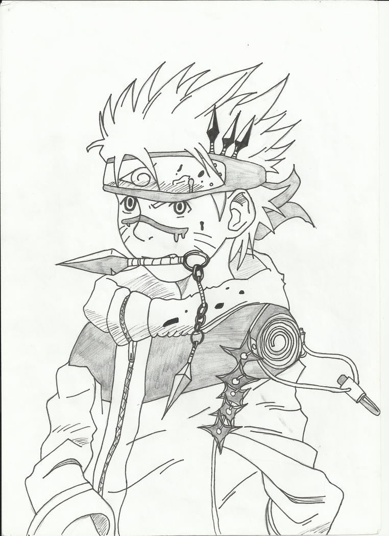 Naruto with Weapons by Candy-Muffin on DeviantArt