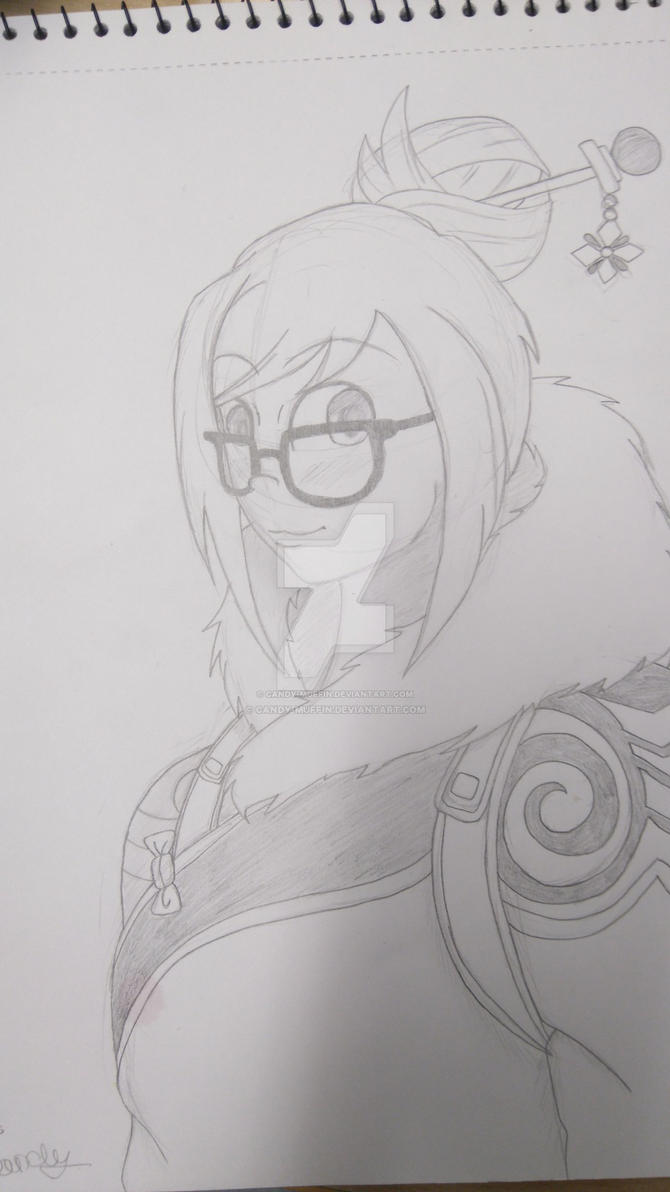 Overwatch Mei by Candy-Muffin