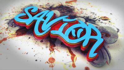 Savior - Grafitti by JasonLowe