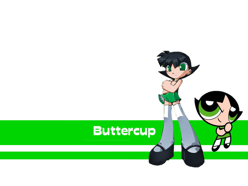 Buttercup Wallpaper 2 by gamefanPPG