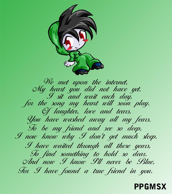 to a wonderful friend.... by gamefanPPG