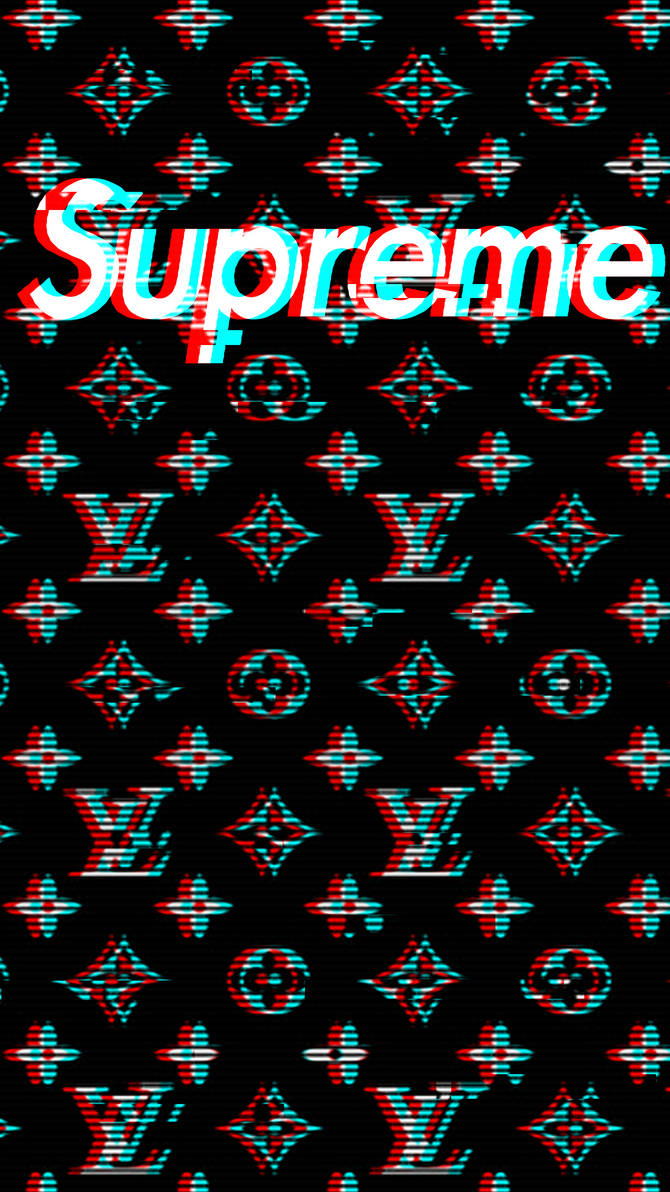 Louis Vuitton Supreme Mobile Wallpaper by ARON260 ...