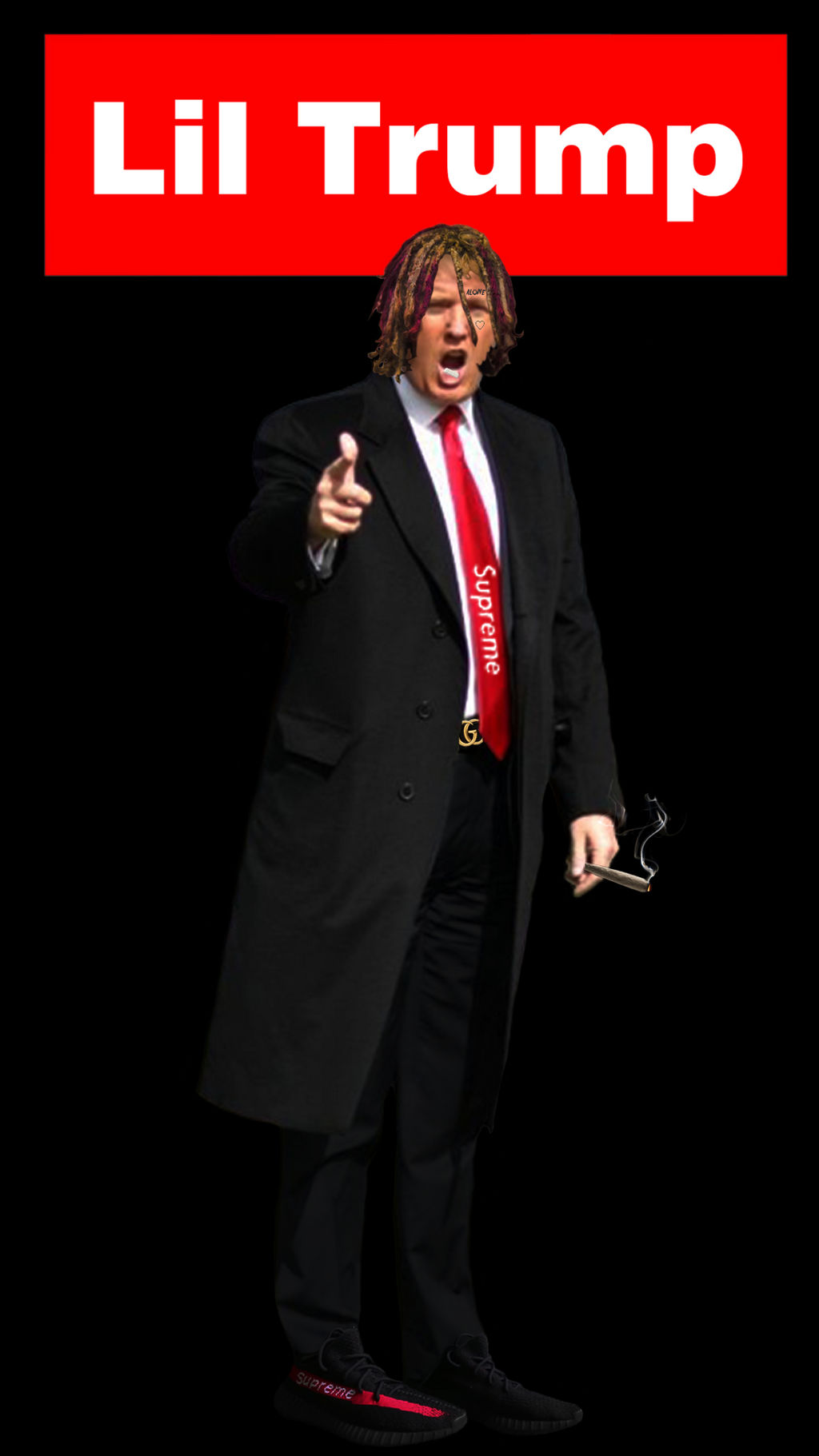 Lil Trump Mobile Wallpaper By Aron260 On Deviantart