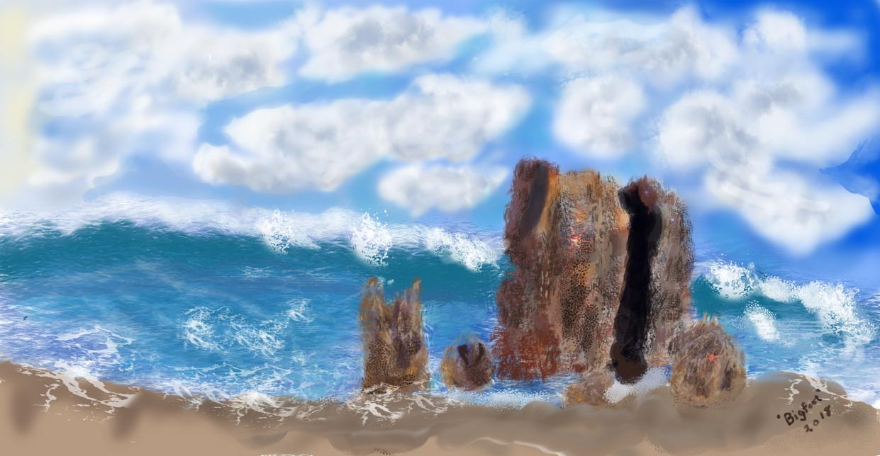 Beach by mac2u2