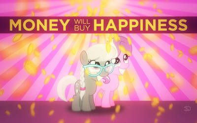 Money will buy happiness by SteffyO1992