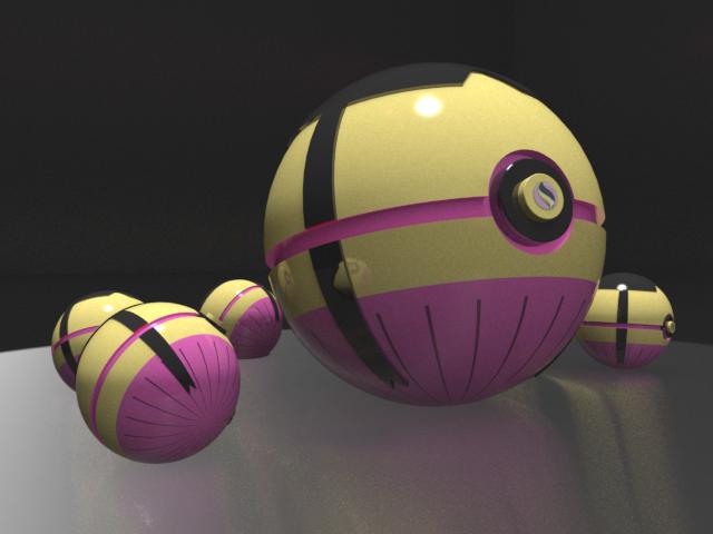 Mega Mawile Pokeball by HaizeaShepard