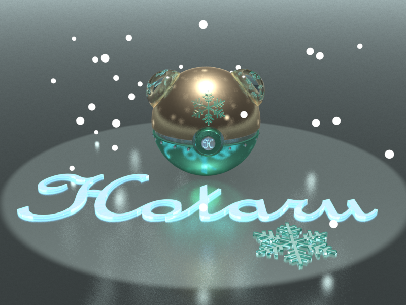 Winter Pokeball inspired in a Cosplayer. by HaizeaShepard