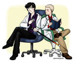 +holmes and watson, MD