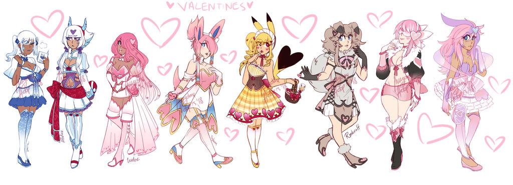 vday adopts (CLOSED, THANK YOU !!)
